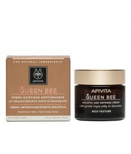 Apivita New Queen Bee Crema Antienvejecimiento Textura Rica 50ml