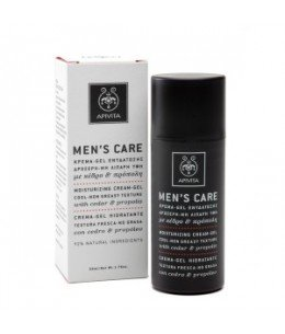 "APIVITA MEN""S CARE CREMA-GEL HIDRATANTE TEXTURA FRESCA NO GRASA 50ML"