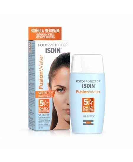 FOTOPROTECTOR ISDIN SPF 50+ FUSION WATER 1 ENVASE 50 ML