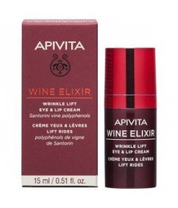 APIVITA WINE ELIXIR EYE % LIP CREAM 15ML
