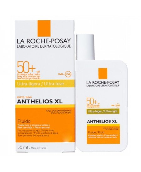 LA ROCHE POSAY ANTHELIOS 50+ FLUIDO INVISIBLE ROSTRO 50 ML