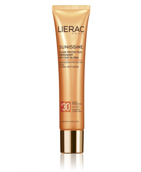 LIERAC SUNISSIME SPF30 FLUIDO FACIAL ANTI-EDAD GLOBAL 40ML