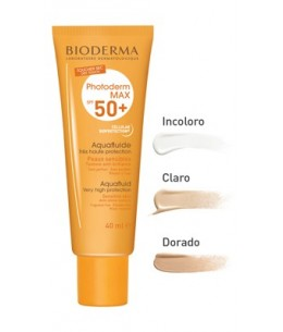 PHOTODERM MAX SPF 50+ AQUAFLUIDO BIODERMA 40 ML CLARO