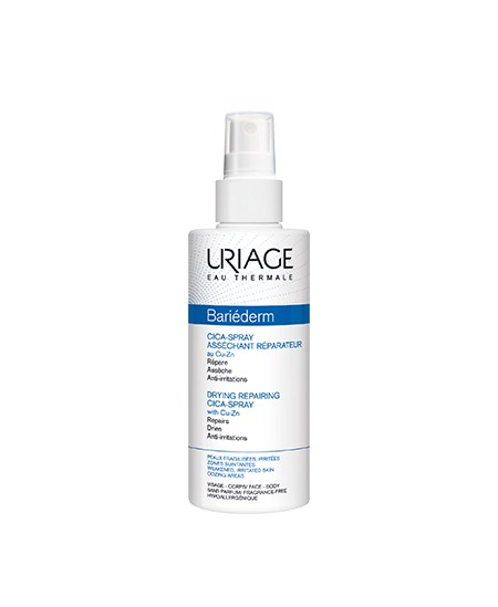 URIAGE BARIEDERM CICA SPRAY SECANTE REPARADOR 100 ML