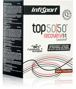 INFISPORT TOP 50/50 EVO 1KG. CHOCOLATE